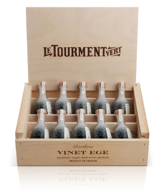 Le Tourment Vert_50ml Miniature Carton