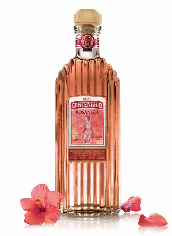 Rosangelô Bottle with Hibiscus
