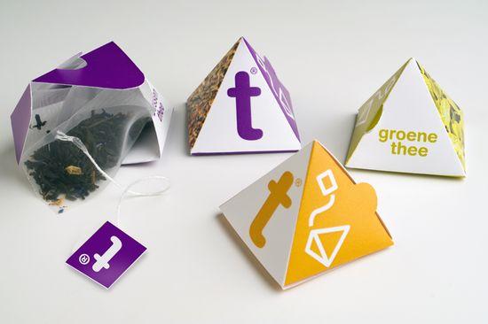 Pyramid Individual packaging
