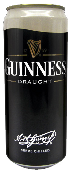 BEFORE - Guinness draught can