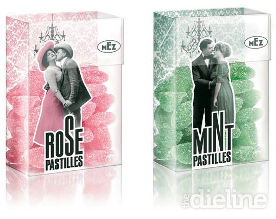 Rose pastilles