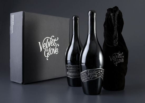 Velvet Glove Package Design