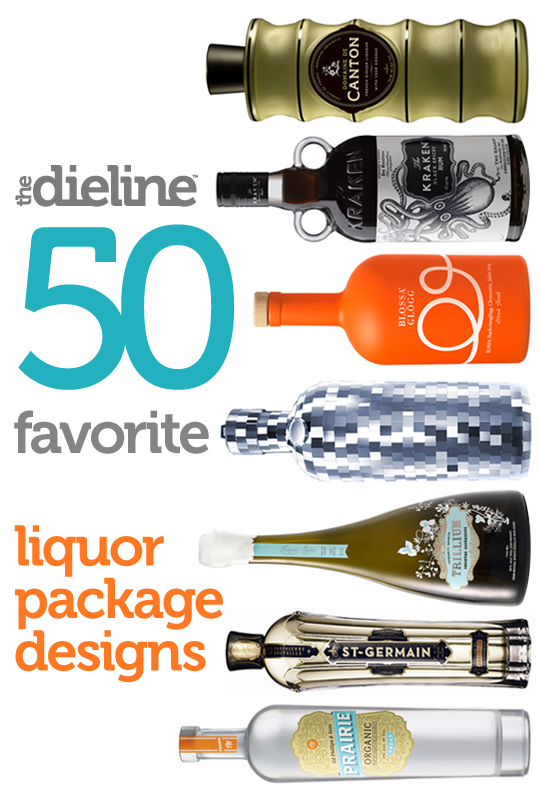 50 Favorite Liquor Package Designs
