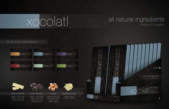 Xocolatl display