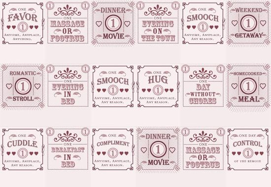 Love Coupon Matchbooks — The Dieline | Packaging & Branding Design