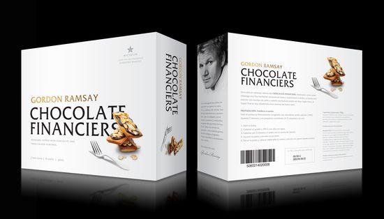 4 CHOCOLATE FINANCIERS