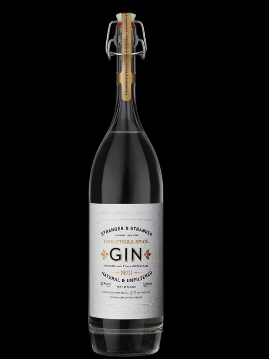 Xmas gin (whole bottle)