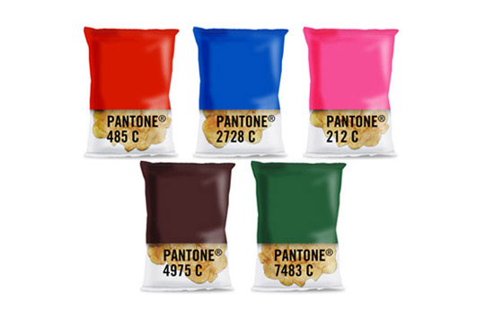 Pantone chips packs