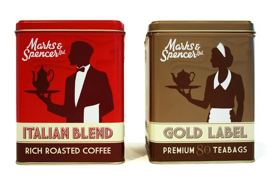 Retro Coffee-Tea Tins