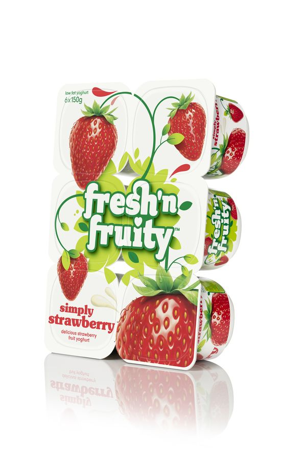 Fresh 'n Fruity Strawberry 6pk