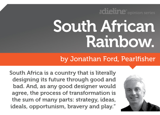 South African Rainboy by Jonathan Ford, Pearlfisher